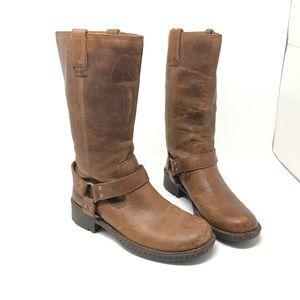 Born Bison Miriam Leather Boots